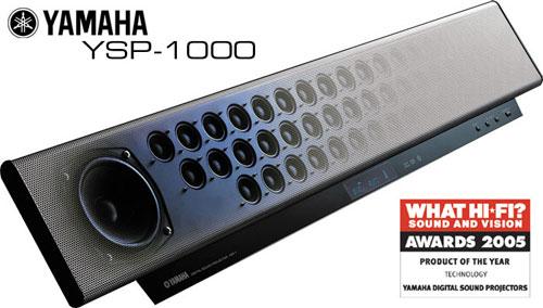 H yttaler sammen med flatskjerm p vegg for Yamaha ysp 900 soundbar