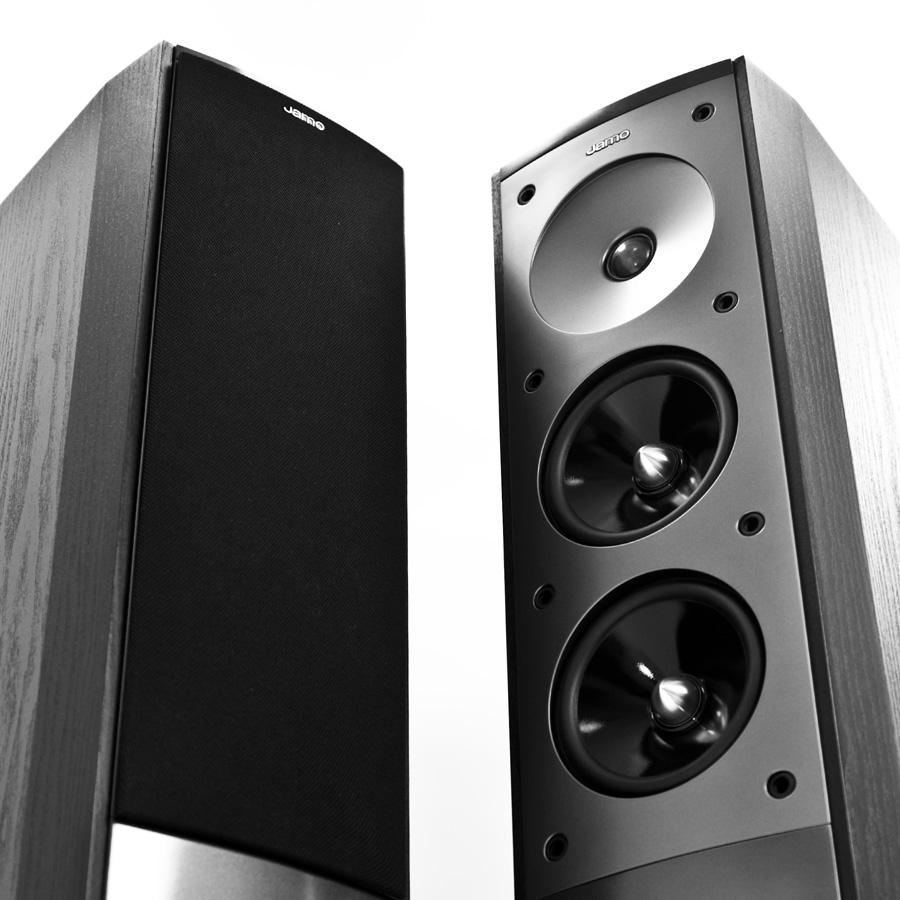 Комплект акустических систем jamo s 606 hcs 3 black ash купить в интернет-магазине дешевле только даром