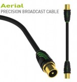 Антенный кабель  QED Profile TV Aerial Cable 1m