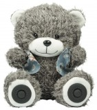 Мини HI-FI сиcтемы Ritmix Ritmix ST-250 Bear BT Grey
