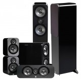 Комплекты акустики Q Acoustics Q Acoustics Q3050 5.1 Black Lacquer