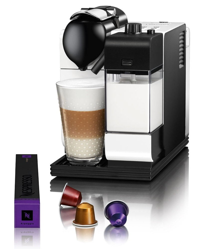 Nespresso DeLonghi Lattissima+ Plus  EN520W Coffee Machine (White)  eBay -> Nespresso Delonghi