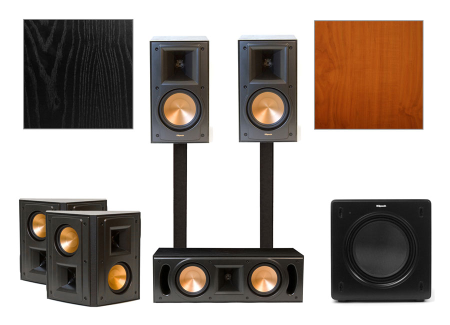 klipsch rb 51 ii home theater system. Black Bedroom Furniture Sets. Home Design Ideas