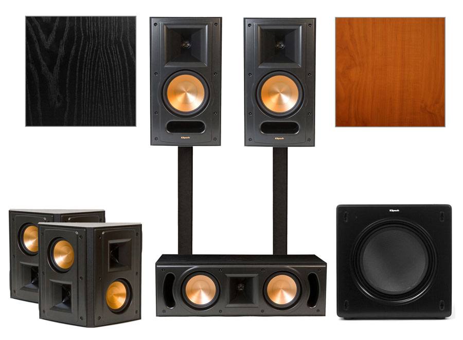 klipsch rb 61 ii home theater system klipsch rb 61 ii home. Black Bedroom Furniture Sets. Home Design Ideas