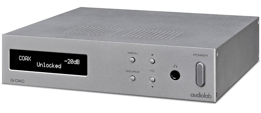 Внешний цап audiolab q-dac black