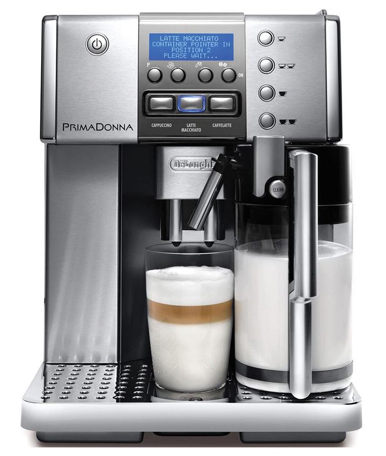 Как сделать капучино кофемашина делонги