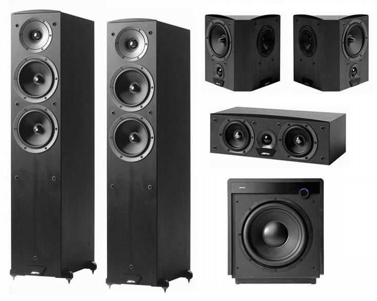 Jamo c97 + marantz sr 4400 bass test