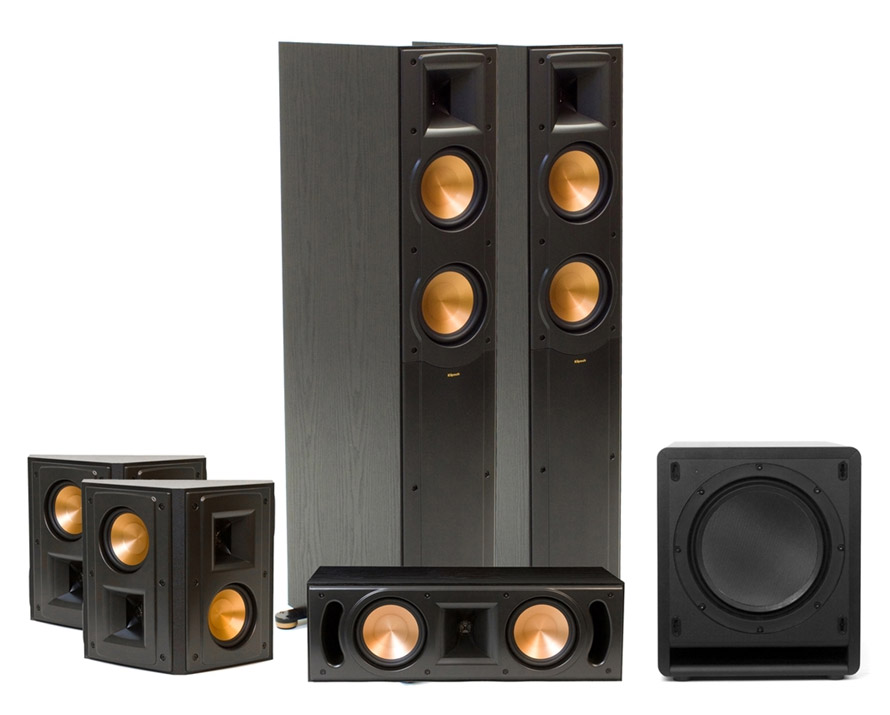 klipsch rf 52 ii home theater system 5 1. Black Bedroom Furniture Sets. Home Design Ideas